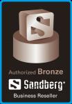 Sandberg Authorized Logótipo
